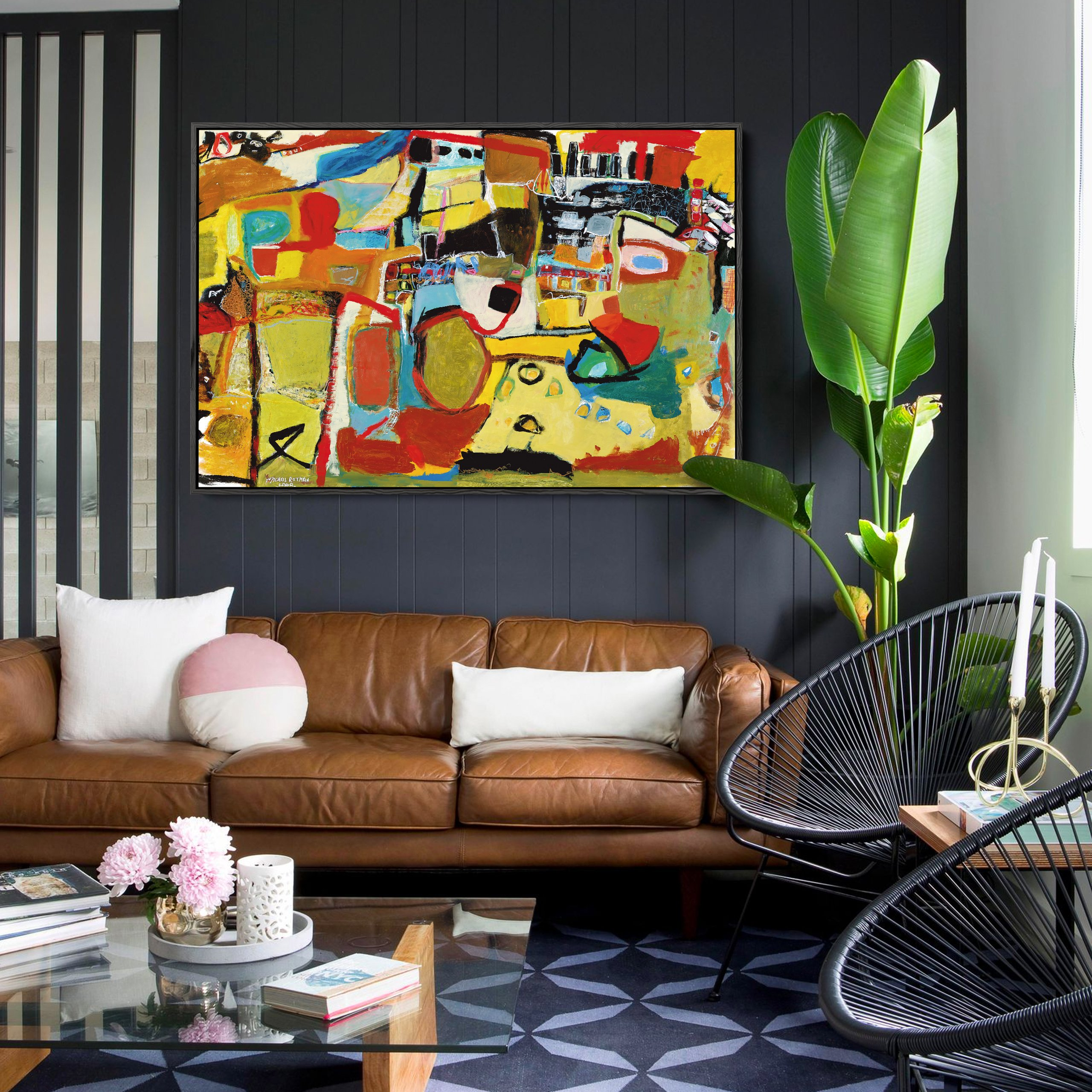 michal-rotman-laor-b-6-modern-print-on-canvas