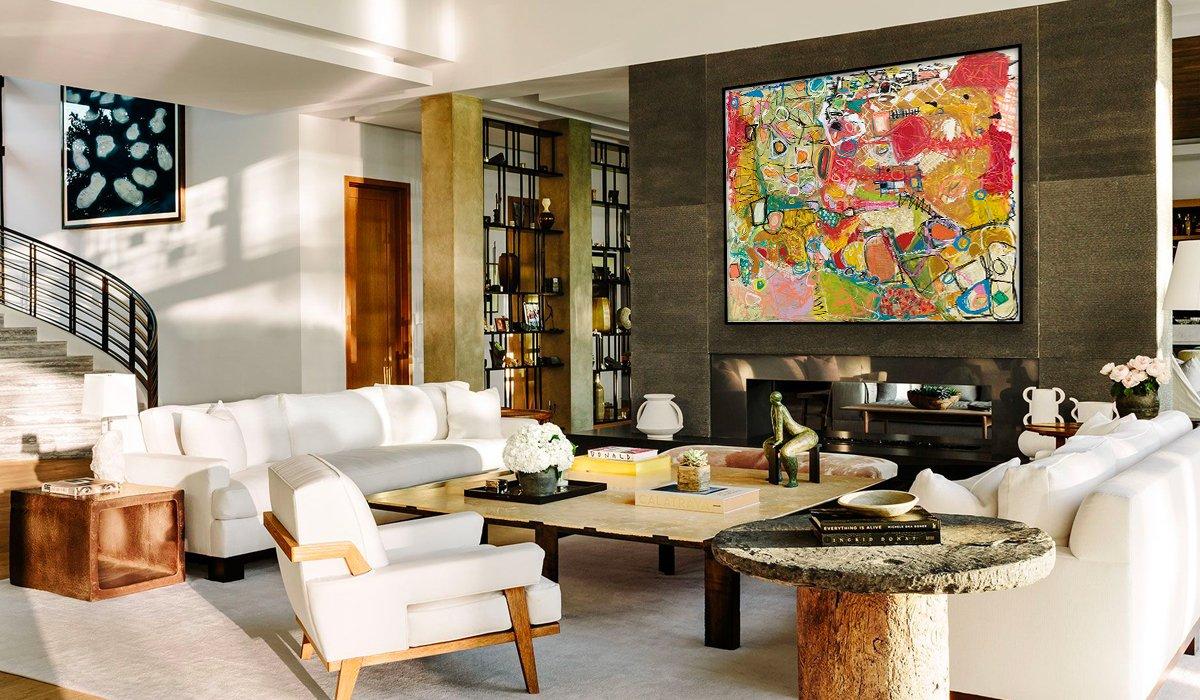 Art on home decor