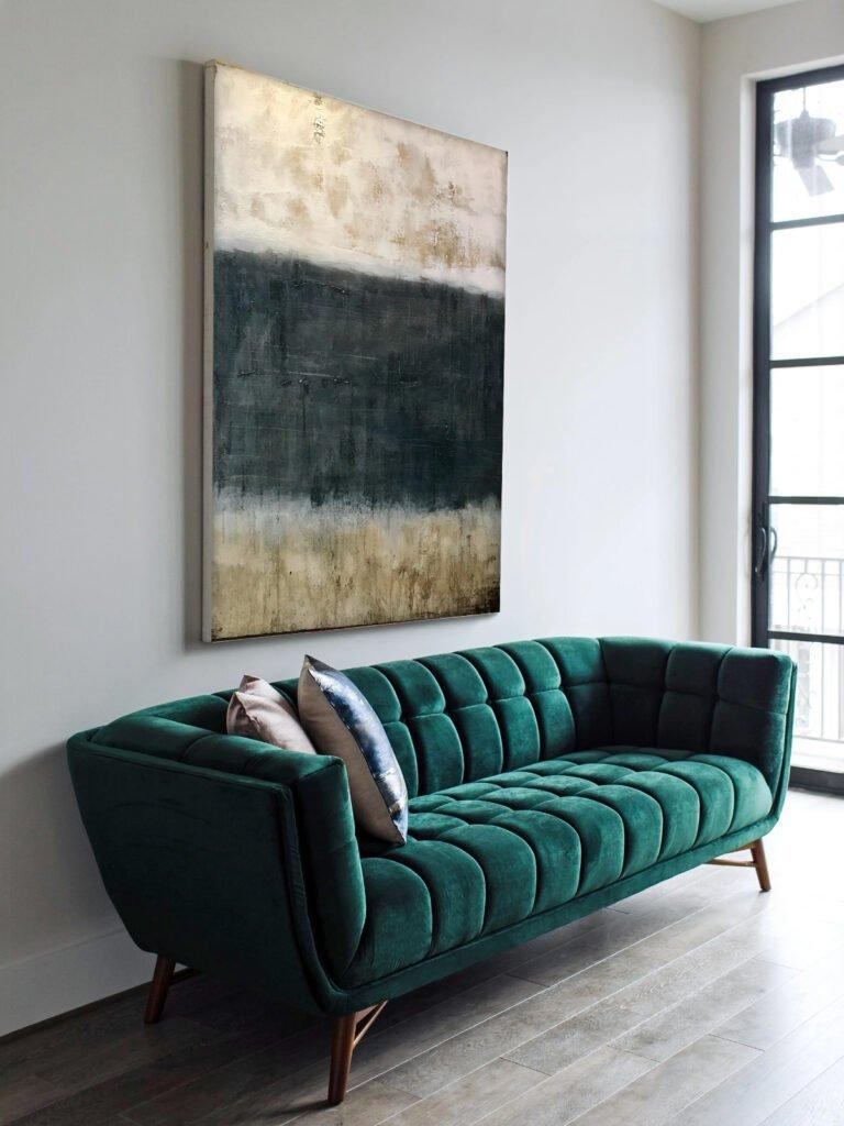 Duo-tone art - An inspiring new abstract art trend