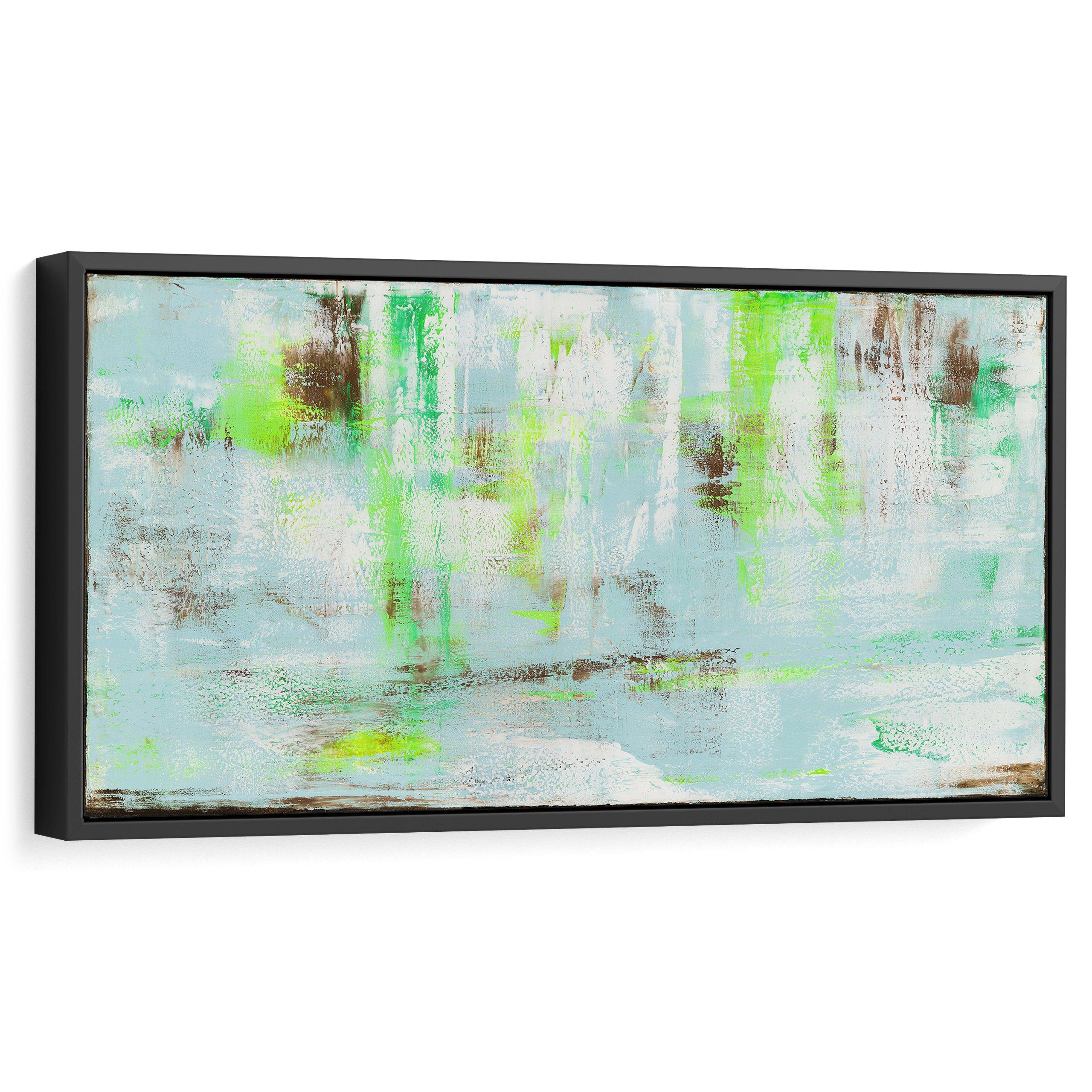 Abstract art in interior design, Modern art in home decor