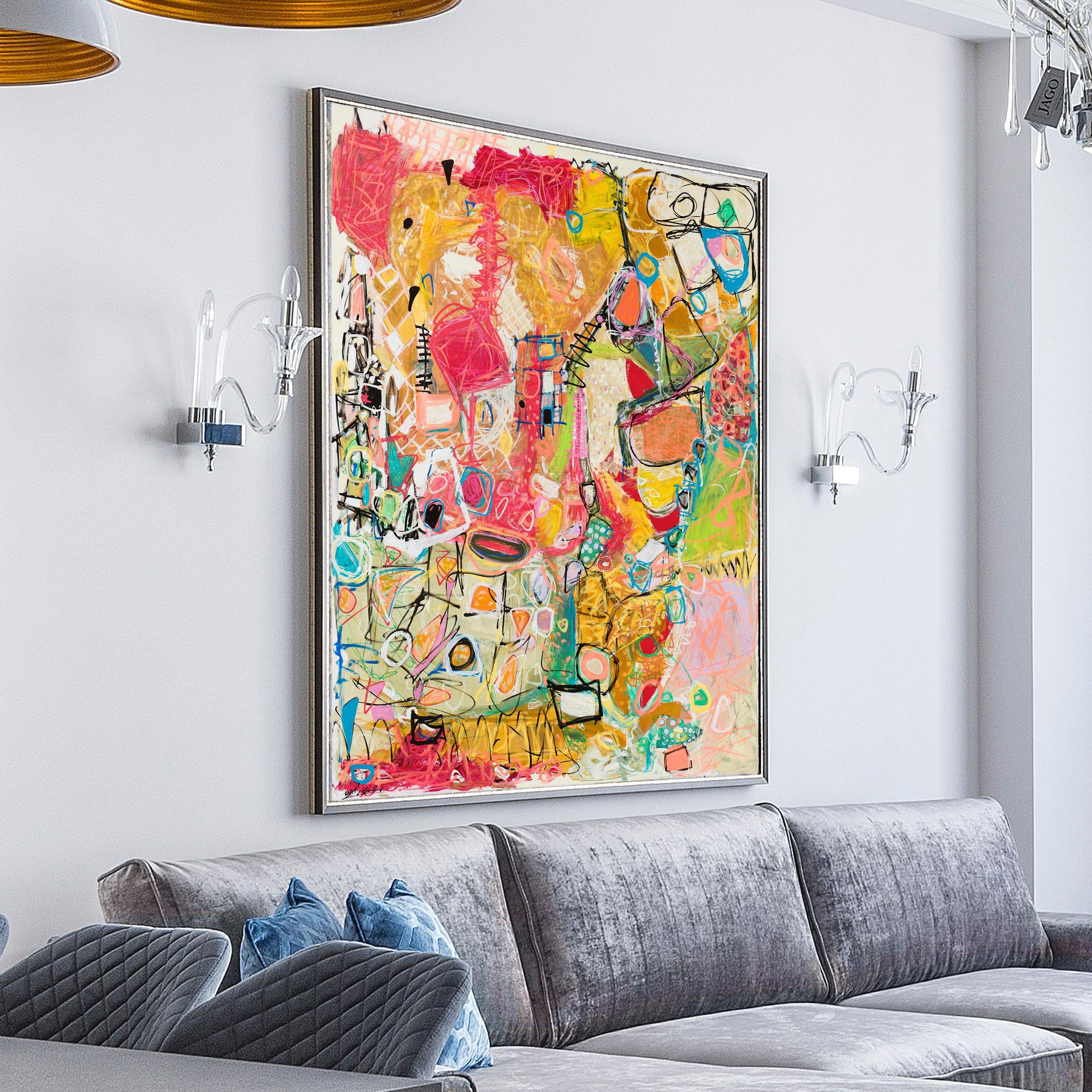 michal-rotman-art-on-canvas-painting