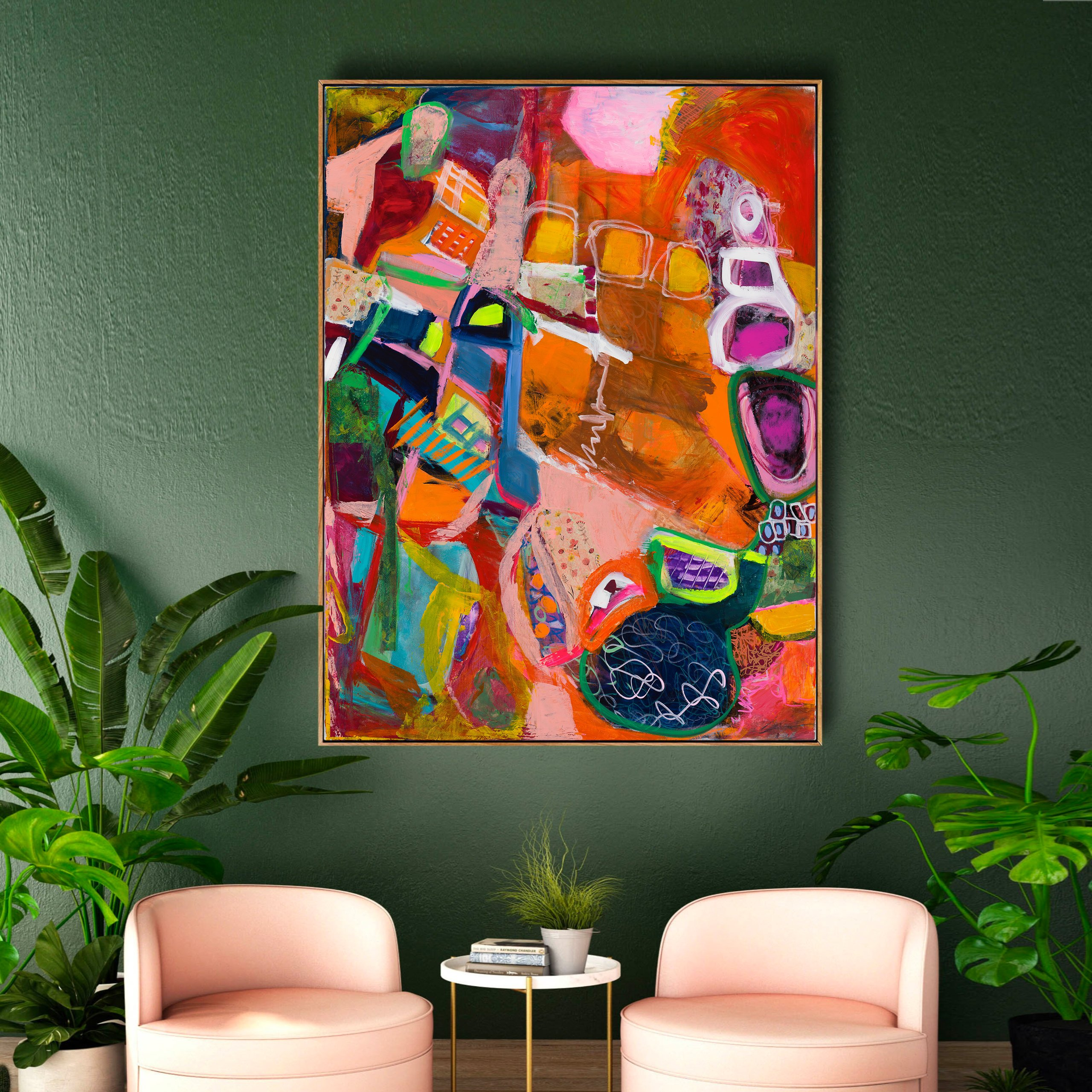 michal-rotman-interior-design-painting-art