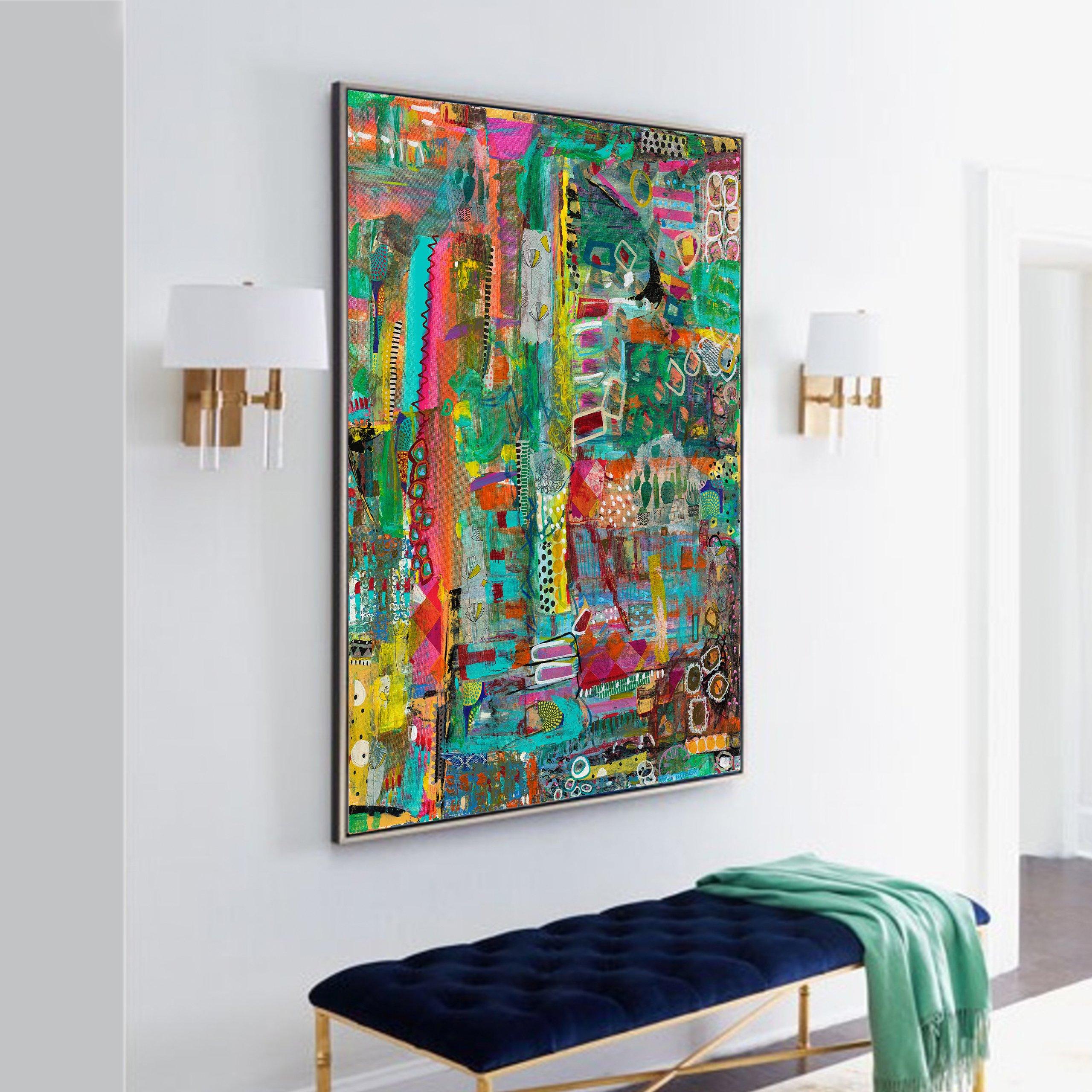 michal-rotman-laor-abstract-art-painting