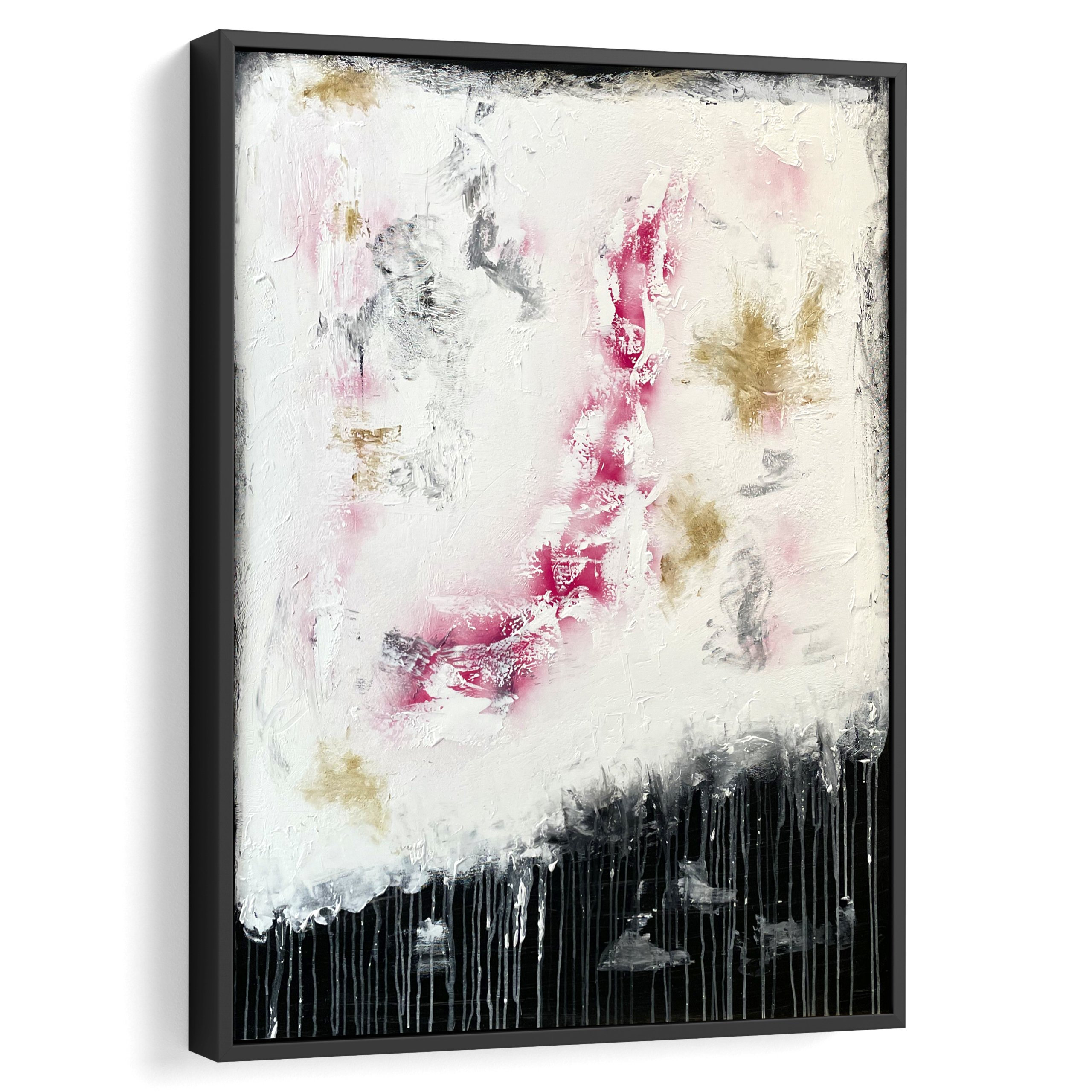 Black and white abstract art by benny moshe