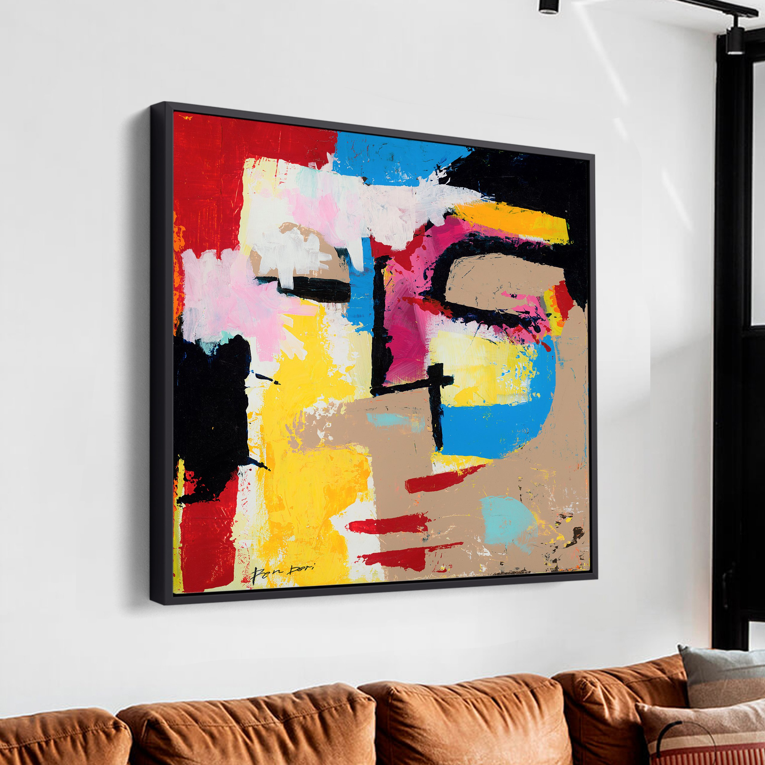 disturbia-ron-deri-square-painting-abstract