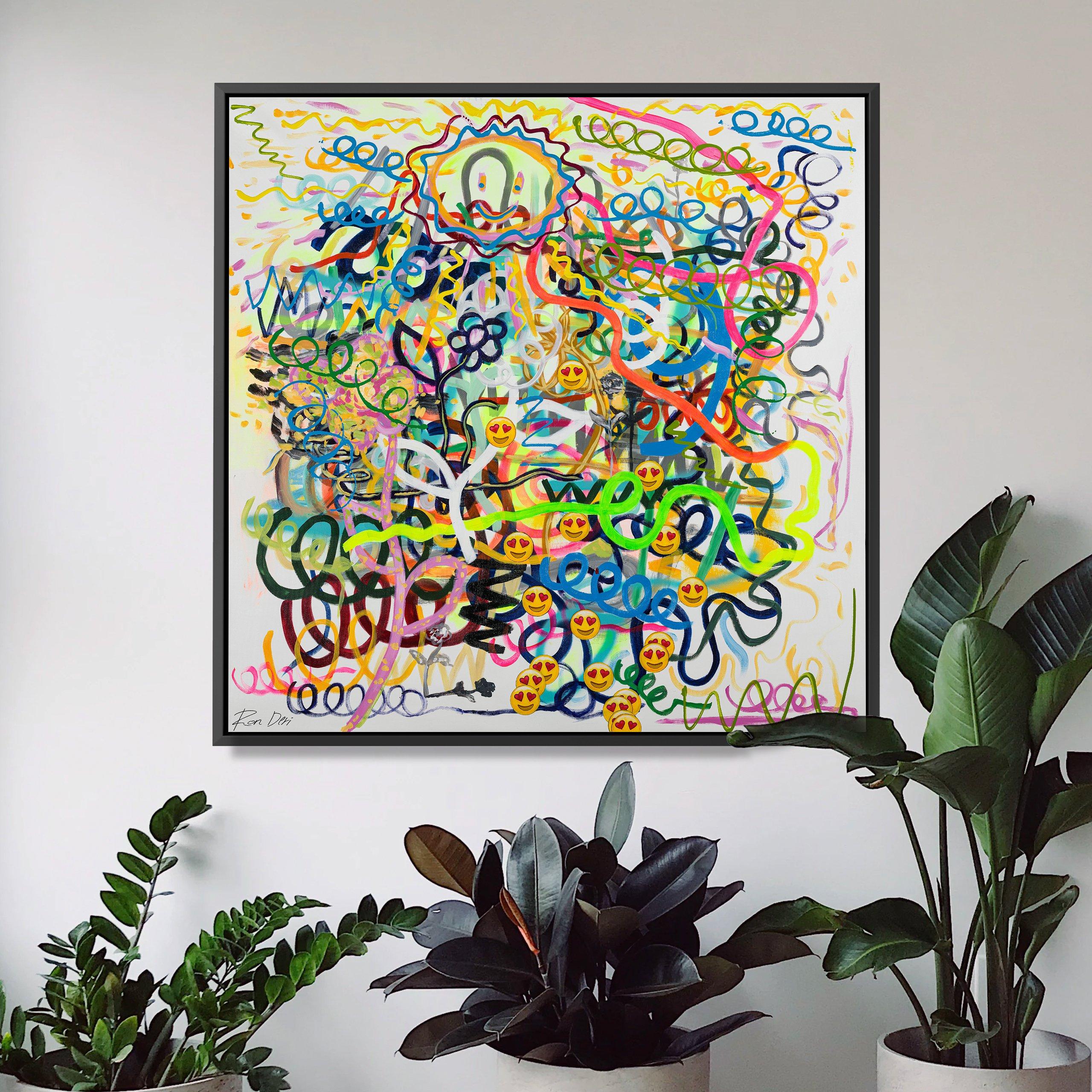 embrace-the-sun-ron-deri-canvas-painting-art