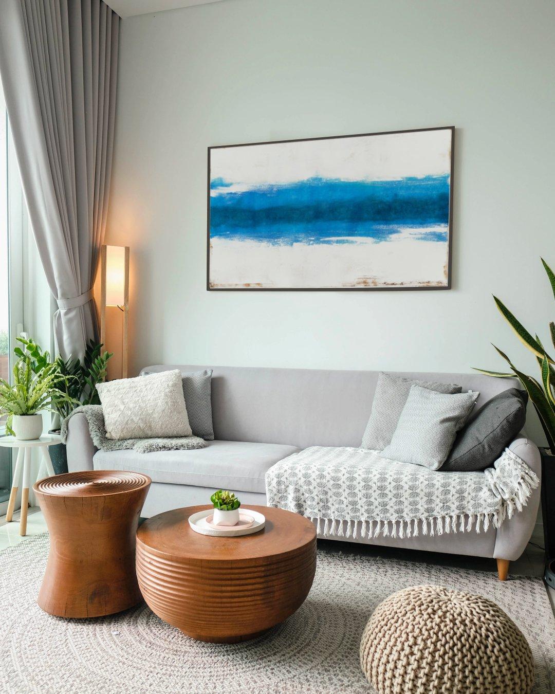 Art in interior design, inspiration, Abstract art, Ocean art, Painting, Wall decor