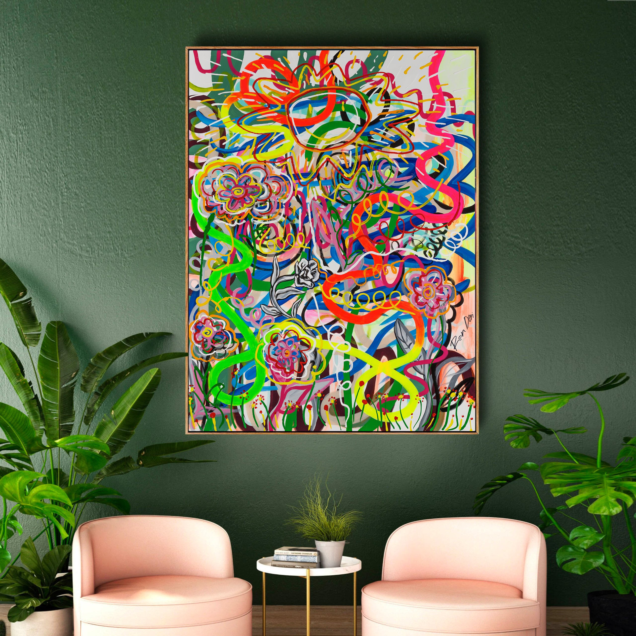ron-deri-embrace-the-sun-interior-design-painting-art