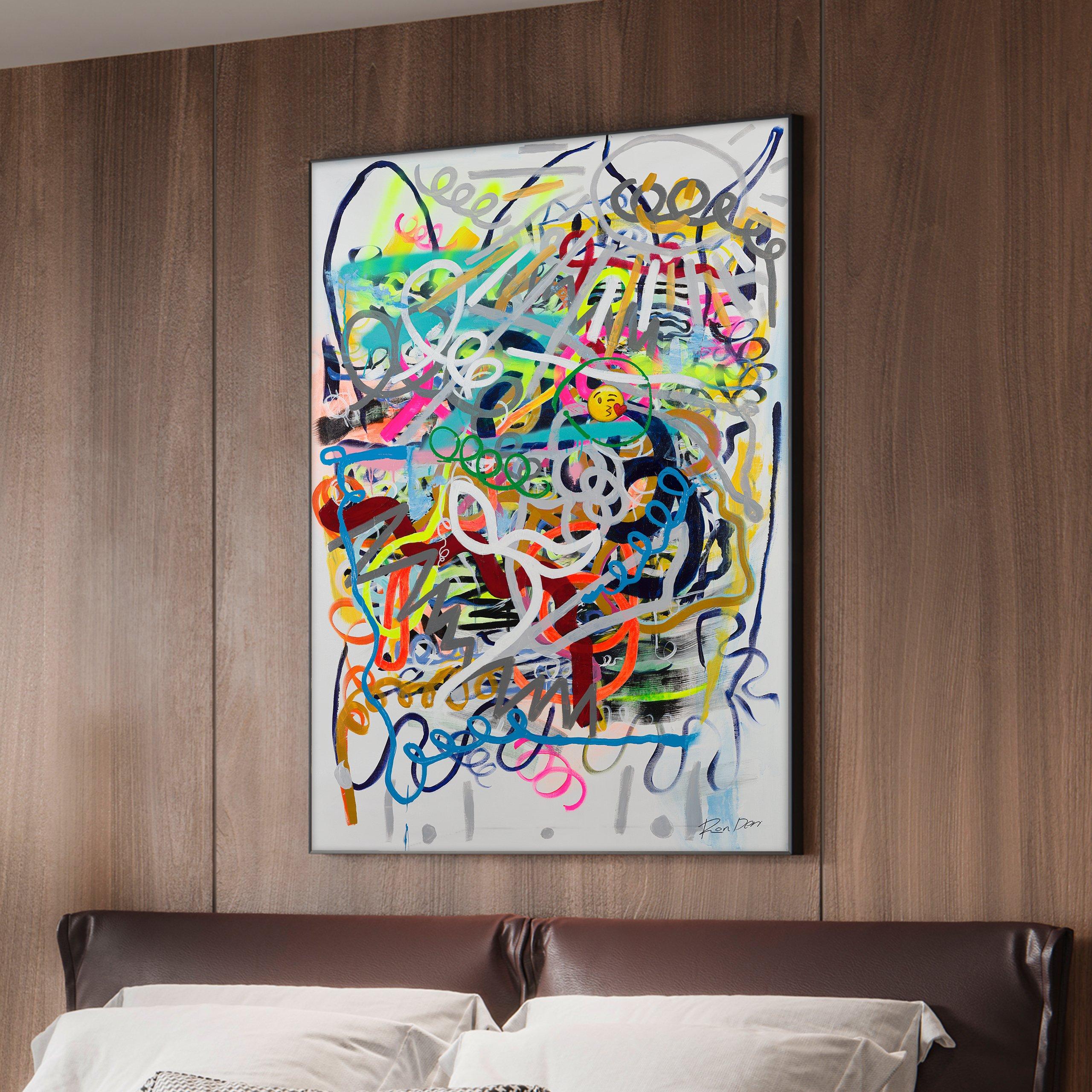 social-ron-deri-emoji-contemporary-abstract-painting