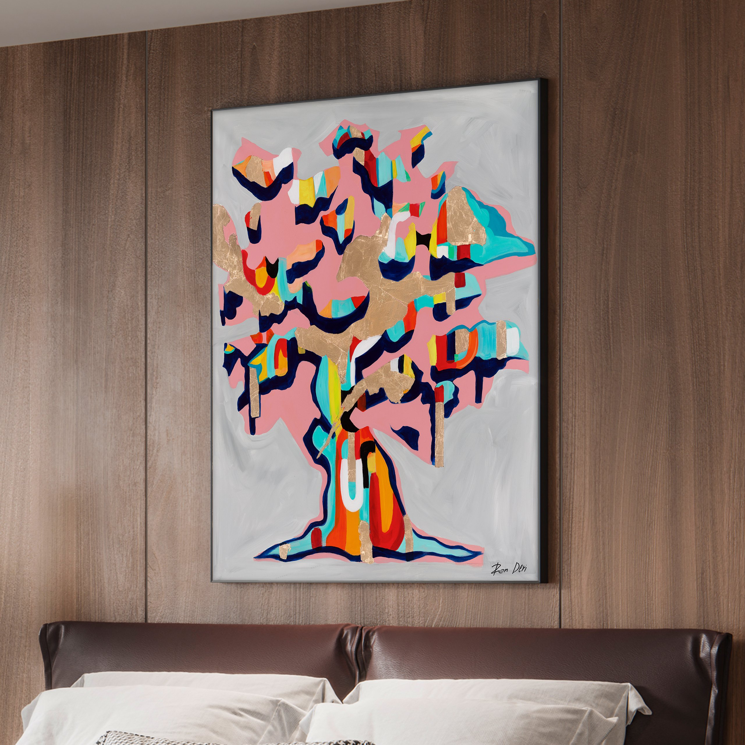 the-giving-tree-ron-deri-contemporary-abstract-painting