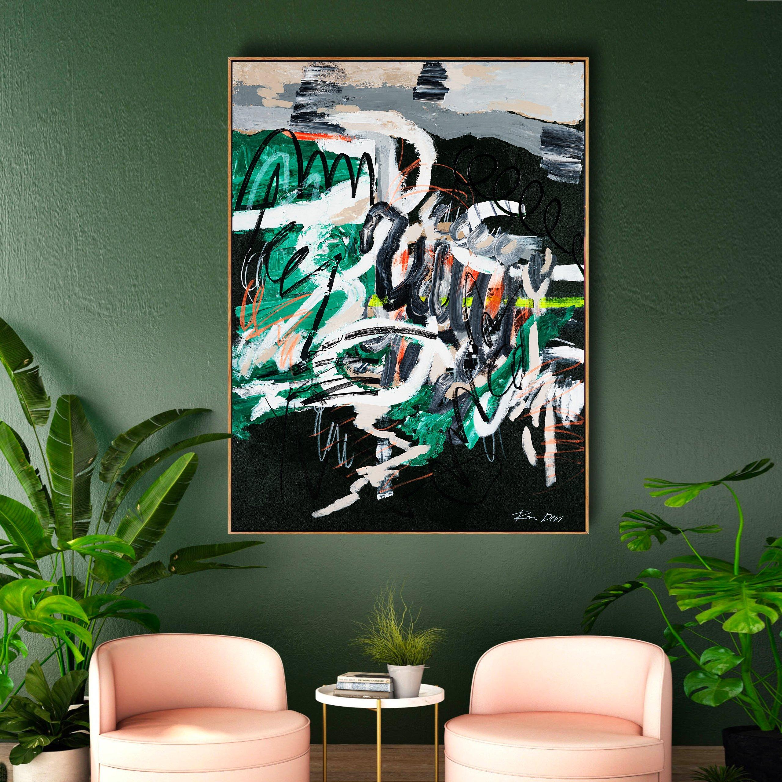 underground-ron-deri-interior-design-painting-art