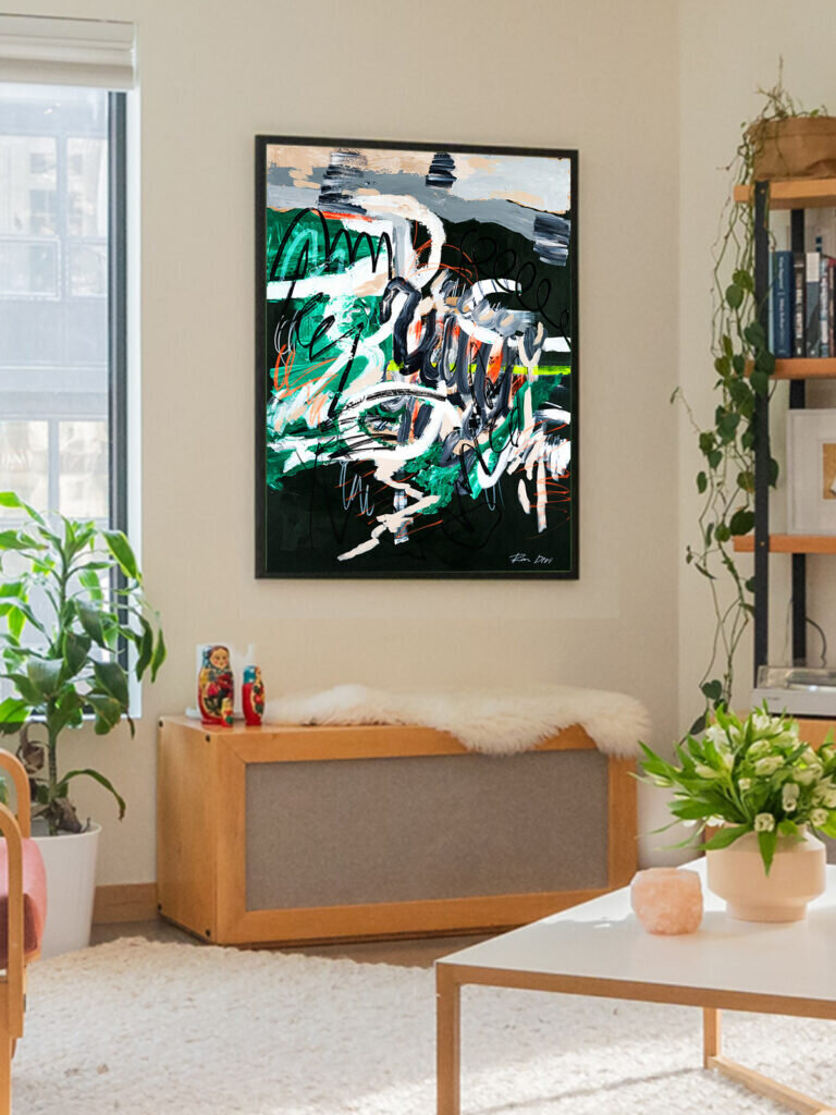 10 Amazing new abstract artworks for your modern home decor